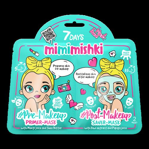 Mimimishki Pre & Post MakeUp Green