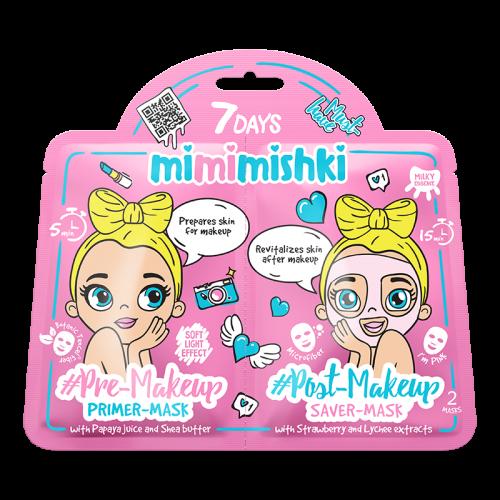 Mimimishki Pre & Post MakeUp Pink