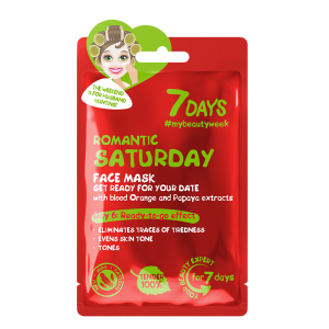 Romantic Saturday Sheet Mask