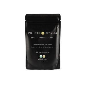 Pu'Erh Ninja Tea - Σκούρο Τσάι Μάτσα 70gr